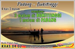 Paket Wisata Padang Bukittinggi Sumbar 4d3n - Wisata Minangkabau Tour Sumatera Barat 4 hari 3 malam