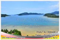 Pantai Mandeh wisata laut - Destinasi tour wisata Sumbar favorit disekitar Painan Pesisir selatan - Travel liburan di Sumatera Barat