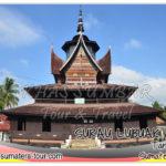 Surau Tuo NAgari Lubuak Bauak - Destinasi tour wisata Sumbar favorit disekitar Batusangkar Tanah Datar - Travel liburan di Sumatera Barat